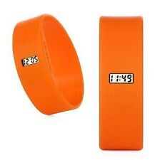 Too Late Uhr - Sportuhr von Too2Late - Orange - Large L - Modeuhr Silikonuhr