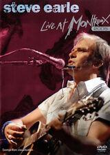 Steve Earle - Live At Montreux 2005 (DVD, 2006)