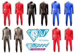 SPEED Kartoverall Daytona Kart Overall - Kartanzug - Combinaison - Karting Suit