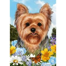 Summer House Flag - Yorkshire Terrier Yorkie Pup 18108