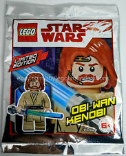 ORIGINAL LEGO STAR WARS LIMITED EDITION OBI-WAN KENOBI 911839 Foil Pack - Sealed