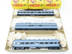 Lot of 3 HO Scale Roundhouse UP Coach, Observation & Baggage Passenger Cars