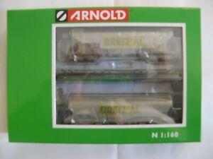 Arnold set 2 wagons  céréaliers