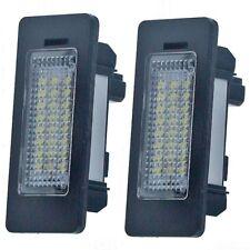 2x 24 LED Error Free License Plate Lights for BMW E39 E60 E70 E82 E90 E92 F30 US