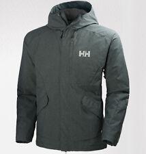 helly hansen mens toronto insulated waterproof jacket stormy green medium skiing