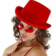 Top Hat Red Velvet Adult Costume Accessory
