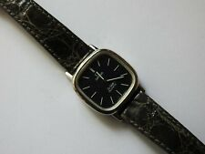 LADIES VINTAGE OMEGA DEVILLE QUARTZ WATCH FULLY SIGNED STRAP AND BUCKLE