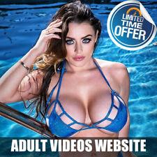 RARE Full Functional Adult Website Business 4 sale - Hundreds of Models!
