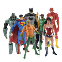 DC Avengers Superman Batman Wonder Woman Model Action Figure PVC Toys