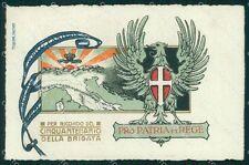 Militari 55º Reggimento Fanteria Brigata Marche Treviso cartolina XF5076