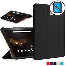 Noir Pliable Housse Étui Intelligent Acer Iconia Tab 10 A3-A40