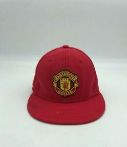 Nike True Manchester United  Printed Snapback Red Hat/Cap Size  7, 56 cm