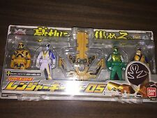 Power Rangers Japanese Ranger Key Set 05 - BRAND NEW, UNOPENED -