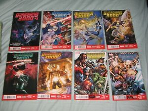 GUARDIANS 3000 (OF THE GALAXY) No's 1 - 8 (2014/5) COMPLETE MARVEL SERIES   NM