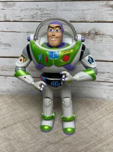 """Disney Hasbro 2001 Toy Story Buzz Lightyear Anti Gravity Utility Belt 12"""" WORKS"""