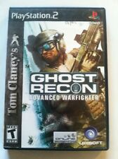 GHOST RECON ADVANCED WARFIGHTER PS2 PLAY STATION 2 GAME COMPLETE EUC