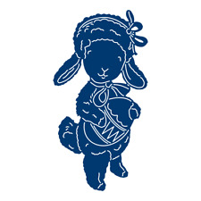 Tattered Lace EASTER LAMB Die - TLD0262 - From The Spring Wildlife 2017 Release