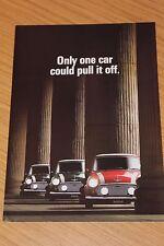 Mini Cooper Sales Folder 1990 Publication Number 4198