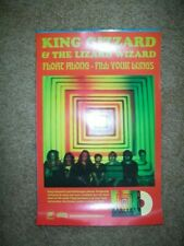 "King Gizzard & the Lizard Wizard     *PROMO POSTER*    ""Float Along""   11"" x 17"""