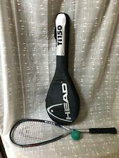 Head Ti.150 Titanium Squash Racket Racquet Power Zone System w/ case & Ball