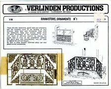 Verlinden Productions 1:35 Bannisters Ornaments No.1 - PE Detail #1