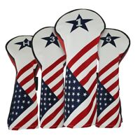 RAM GOLF USA STARS AND STRIPES PU LEATHER HEADCOVER For DRIVER / WOOD / HYBRID