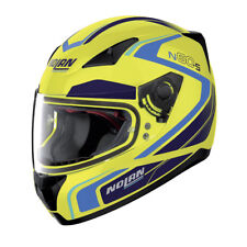 CASCO INTEGRAL NOLAN N60-5 PRACTICE - 23 LED YELLOW TAMAÑO S