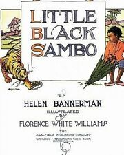 NEW Little Black Sambo by Helen Bannerman