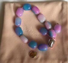Lola Rose Nikki Semi Precious Luxe Slider Bracelet Rainbow Quartz