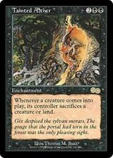TAINTED AETHER Urza's Saga MTG Black Enchantment RARE