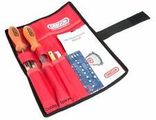 """OREGON 5/32"""" 4mm qualità Motosega Catena deposito KIT in Strumento Roll Tasca 558488"""