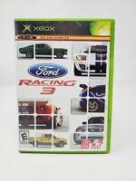 Ford Racing 3  (Microsoft Xbox) Complete CIB Video Game