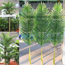 104cm 18pcs Patio Sago Artificial Palm Leaf Plant Tree Branch Frond Home Decor