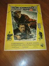SOGGETTONE,1955,Don Camillo e l'onorevole Peppone,Fernandel ,Gino Cervi,Gallone