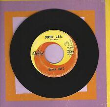 The Beach Boys Surfin Usa Is Jackie Gleason La La La Misspressed 45 Record Rare