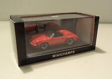 Porsche 911 Speedster Modelo G 1988 Indian Red - Minichamps 1:43
