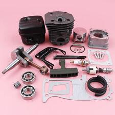 Cylinder Crankshaft Muffler Piston Service Kit For Husqvarna 350 #503858071 44mm