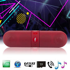 Wireless Bluetooth Mini Speaker Stereo Bass USB Flash FM Radio MP3 Music Player