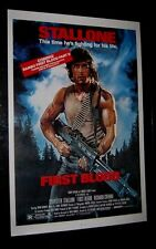 Original RAMBO FIRST BLOOD 27X41 Video Style ROLLED Sylvester Stallone STRUZAN