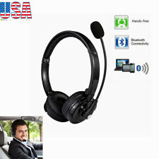 PS3 Trucker Wireless Bluetooth Noise Cancelling Over the Head Boom Mic Headset
