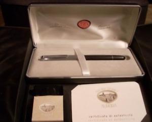 Aurora Archivi Storici 022 Chrome Fountain Pen BRAND NEW