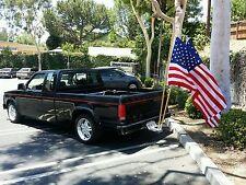 Dual flag mount & poles combo