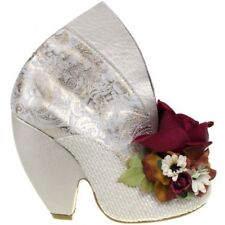 Irregular Choice We Found Love Floral Heels White Extremely Rare Wedding 3/36