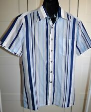 Mens Vintage 70's CLASSIC COLLECTION Striped Print Shirt