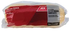 """NEW! ACE 9"""" PAINT ROLLER COVER, 1-1/4"""" NAP FOR EXTRA ROUGH SURFACES, 1336916"""