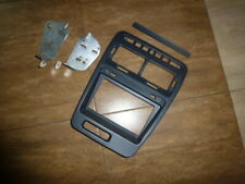 Double Din Radio Bezel for 1990-99 Nissan 300ZX Left Hand Drive Version