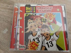 CD Die drei Ausrufezeichen !!! Fall 24 Fußballstar in Gefahr CD