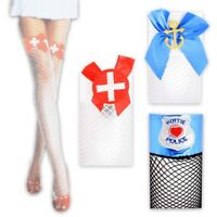 Fasching Fastnacht Kostüm Netzstrümpfe Polizistin Seemannsbraut Krankenschwester