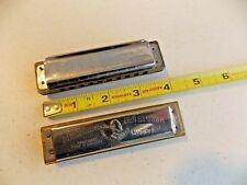 Vintage Hohner Harmonicas - Lot Of 2, Old Standby & Glh Great Little Harp Key C