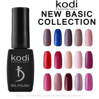 Kodi NEW BASIC COLLECTION 8ml. Gel LED/UV Nail Polish Milk Shine French Pink Red